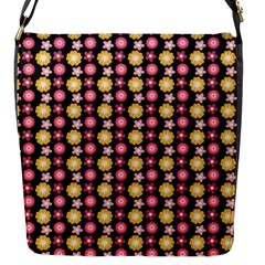 Cute Floral Pattern Flap Messenger Bag (s) by creativemom