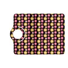 Cute Floral Pattern Kindle Fire Hd (2013) Flip 360 Case