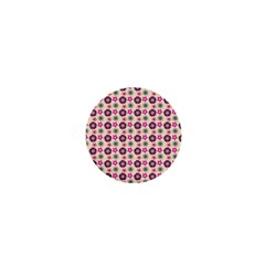 Cute Floral Pattern 1  Mini Buttons by creativemom