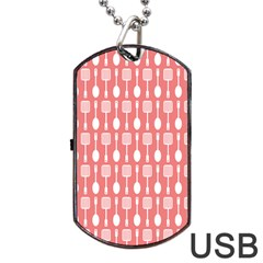 Pattern 509 Dog Tag Usb Flash (one Side) by creativemom
