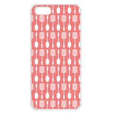Pattern 509 Apple Iphone 5 Seamless Case (white) by creativemom