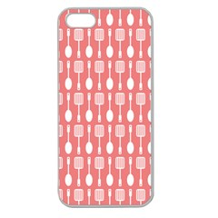 Pattern 509 Apple Seamless Iphone 5 Case (clear) by creativemom