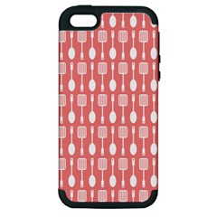 Pattern 509 Apple Iphone 5 Hardshell Case (pc+silicone) by creativemom
