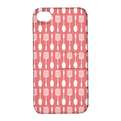 Pattern 509 Apple Iphone 4/4s Hardshell Case With Stand by creativemom