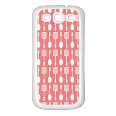 Pattern 509 Samsung Galaxy S3 Back Case (white) by creativemom
