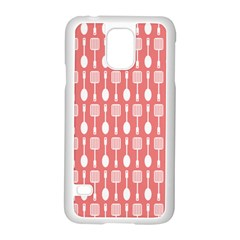 Pattern 509 Samsung Galaxy S5 Case (white) by creativemom