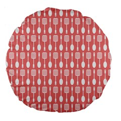 Pattern 509 Large 18  Premium Flano Round Cushions by creativemom
