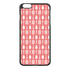 Pattern 509 Apple Iphone 6 Plus Black Enamel Case by creativemom