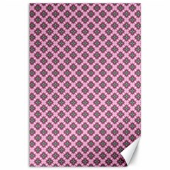 Cute Pretty Elegant Pattern Canvas 12  X 18