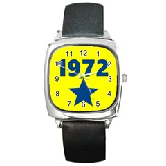 1972 Square Metal Watches by theunrulyartist