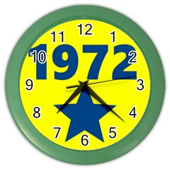 1972 Color Wall Clocks by theunrulyartist