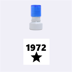 1972 Rubber Round Stamps (small)