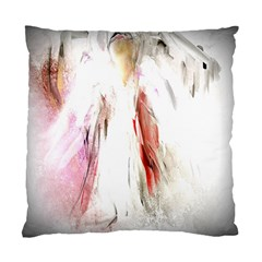 Abstract Angel In White Standard Cushion Cases (two Sides)