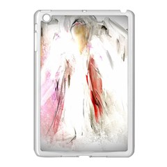 Abstract Angel In White Apple Ipad Mini Case (white) by theunrulyartist
