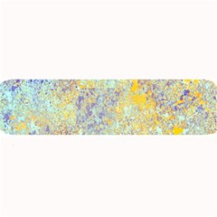 Abstract Earth Tones With Blue  Large Bar Mats