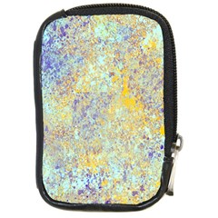 Abstract Earth Tones With Blue  Compact Camera Cases