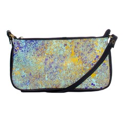 Abstract Earth Tones With Blue  Shoulder Clutch Bags by digitaldivadesigns