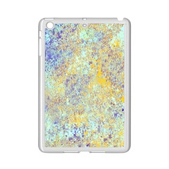 Abstract Earth Tones With Blue  Ipad Mini 2 Enamel Coated Cases