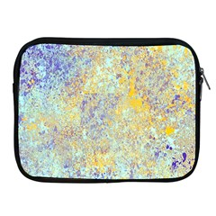 Abstract Earth Tones With Blue  Apple Ipad 2/3/4 Zipper Cases by digitaldivadesigns