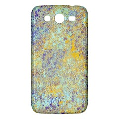 Abstract Earth Tones With Blue  Samsung Galaxy Mega 5 8 I9152 Hardshell Case  by theunrulyartist