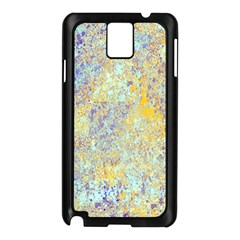 Abstract Earth Tones With Blue  Samsung Galaxy Note 3 N9005 Case (black) by theunrulyartist
