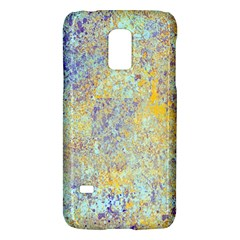 Abstract Earth Tones With Blue  Galaxy S5 Mini by theunrulyartist