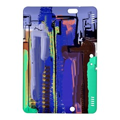 Abstract City Design Kindle Fire HDX 8.9  Hardshell Case by theunrulyartist
