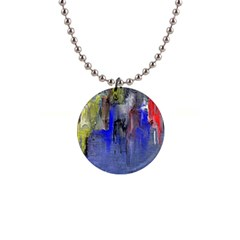 Hazy City Abstract Design Button Necklaces by theunrulyartist