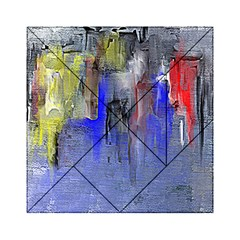 Hazy City Abstract Design Acrylic Tangram Puzzle (6  X 6 ) by theunrulyartist