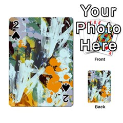 Abstract Country Garden Playing Cards 54 Designs