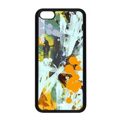 Abstract Country Garden Apple Iphone 5c Seamless Case (black) by theunrulyartist