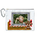 xmas - Canvas Cosmetic Bag (XL)