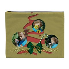 Xmas By M Jan   Cosmetic Bag (xl)   Ndhecf6te1nb   Www Artscow Com Front