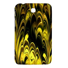 Fractal Marbled 15 Samsung Galaxy Tab 3 (7 ) P3200 Hardshell Case  by ImpressiveMoments