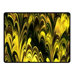 Fractal Marbled 15 Double Sided Fleece Blanket (small)