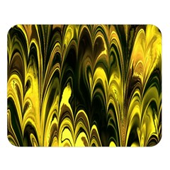 Fractal Marbled 15 Double Sided Flano Blanket (large)