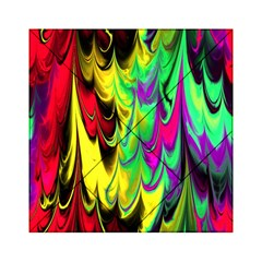 Fractal Marbled 14 Acrylic Tangram Puzzle (6  X 6 ) by ImpressiveMoments