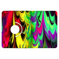 Fractal Marbled 14 Kindle Fire Hdx Flip 360 Case by ImpressiveMoments
