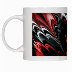 Fractal Marbled 8 White Mugs by ImpressiveMoments