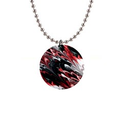 Fractal Marbled 8 Button Necklaces