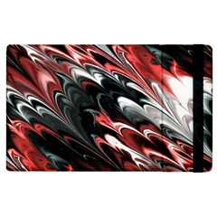 Fractal Marbled 8 Apple Ipad 3/4 Flip Case by ImpressiveMoments