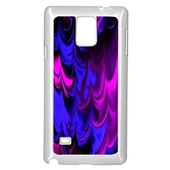 Fractal Marbled 13 Samsung Galaxy Note 4 Case (White)