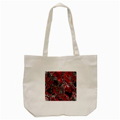 Fractal Marbled 07 Tote Bag (cream)  by ImpressiveMoments