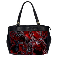Fractal Marbled 07 Office Handbags by ImpressiveMoments