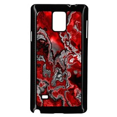 Fractal Marbled 07 Samsung Galaxy Note 4 Case (Black) by ImpressiveMoments