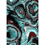 Fractal Marbled 05 Ribbon 3D Greeting Card (7x5)  Inside