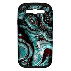 Fractal Marbled 05 Samsung Galaxy S Iii Hardshell Case (pc+silicone) by ImpressiveMoments