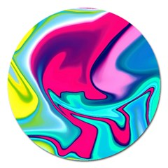 Fluid Art 22 Magnet 5  (round) by ImpressiveMoments