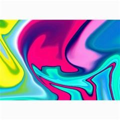 Fluid Art 22 Collage 12  X 18