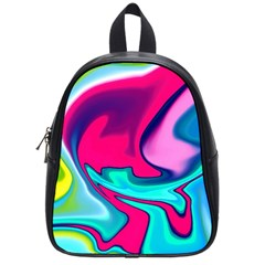 Fluid Art 22 School Bags (small)  by ImpressiveMoments